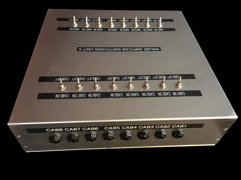 Kruse Amp Cabinet Router Switcher