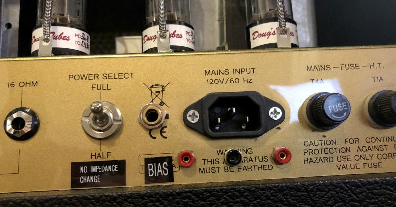 Friedman BE100 Mod Jens Kruse Kontrol Amplification Amps External Bias
