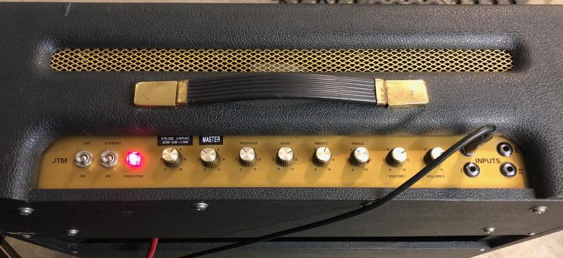 Marshall Bluesbreaker No Drill Variac Brown Mod Jens Kruse Kontrol
