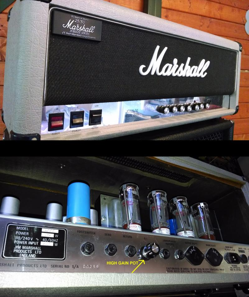 KRUSE high gain state Marshall Silver Jubilee