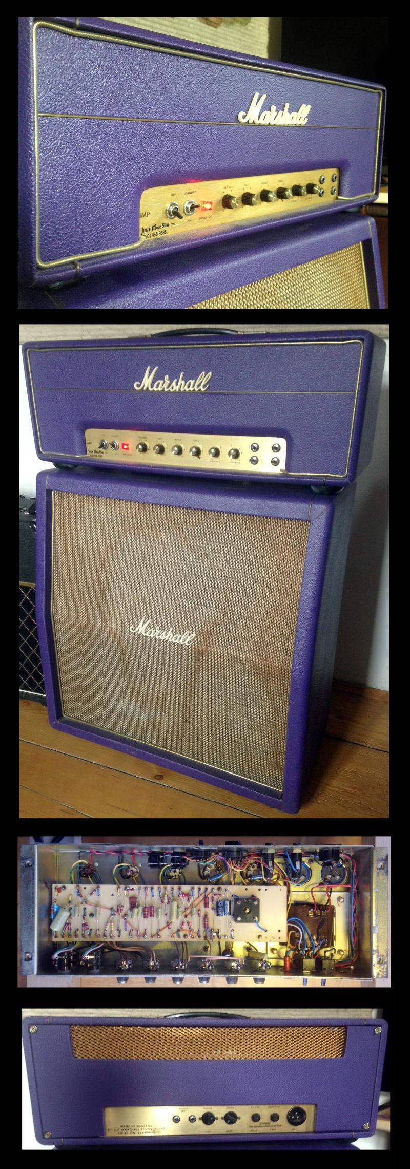 1973 MARSHALL JMP 50W purple