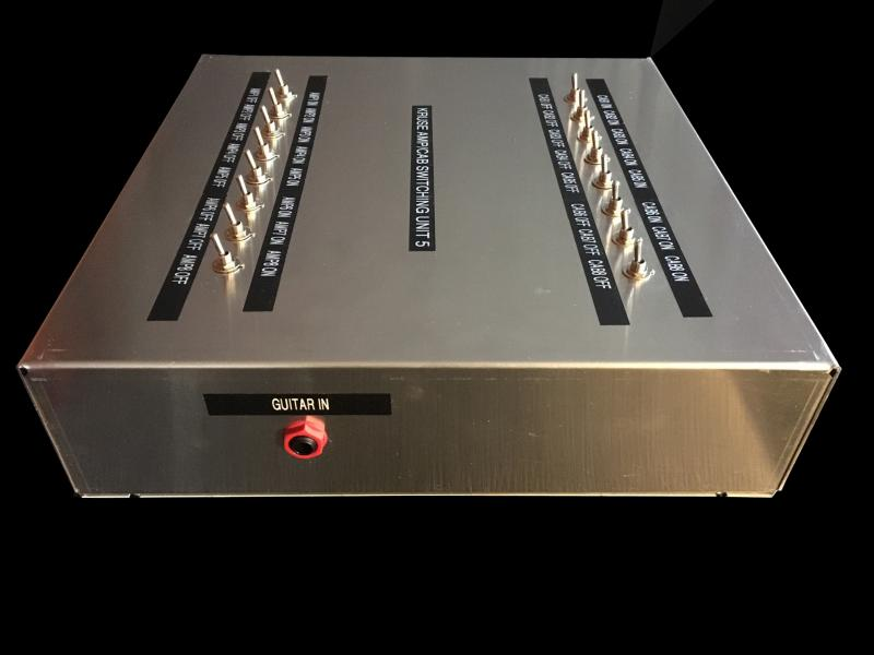 Kruse Amp Cabinet Router Switcher Unit